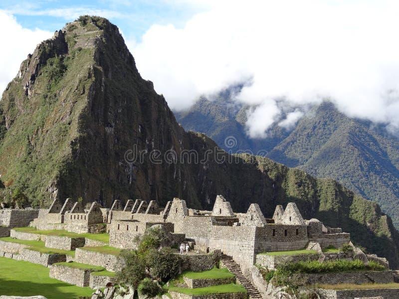 Local do patrimônio mundial do unesco de peru Ámérica do Sul do picchu de Machu imagem de stock