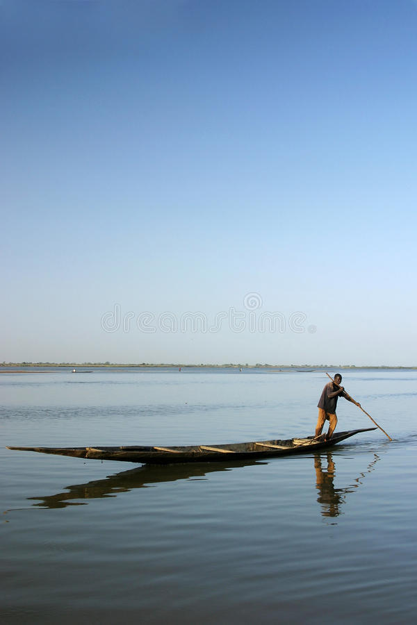 Download Local Fisherman On The River Niger Editorial Image - Image: 17652520