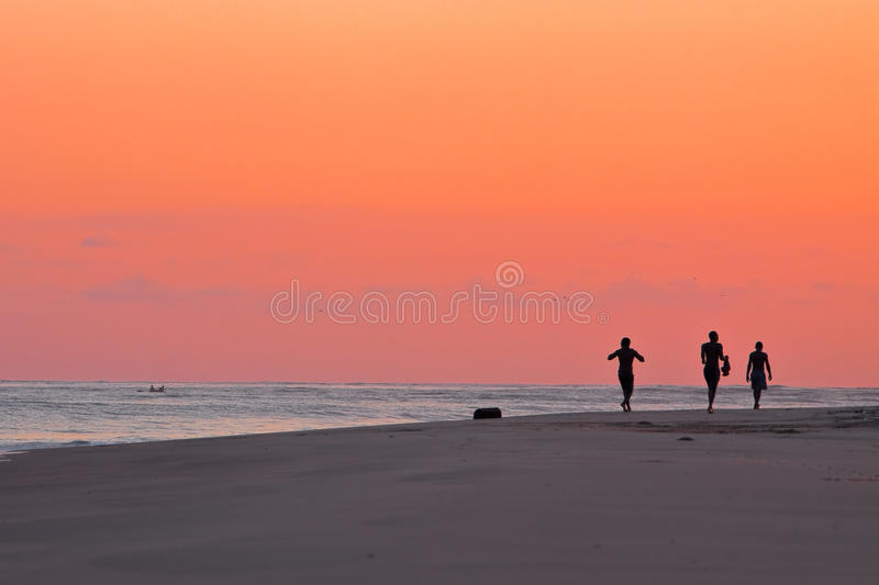 Download Local Fishermen stock photo. Image of local, people, silhouette - 13044484