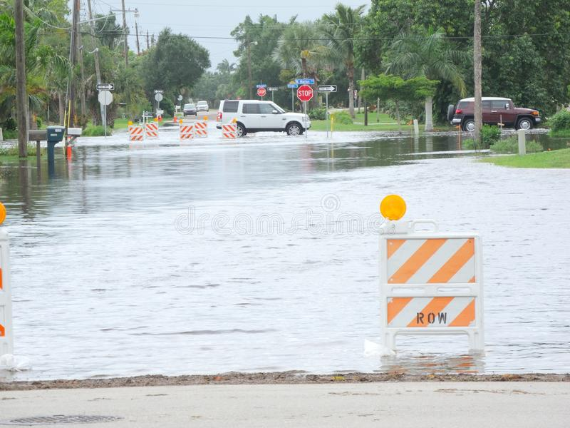 Download Local Flooding Hurricane Debby Editorial Stock Image - Image of tropical, punta: 25437029