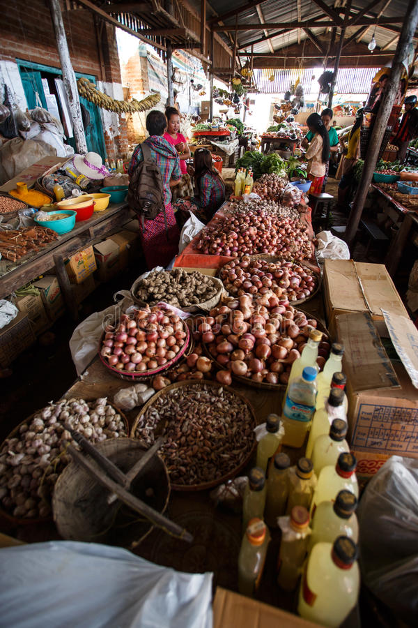 Local Market In Chin State, Myanmar Editorial Photo - Image of local,  western: 61490666