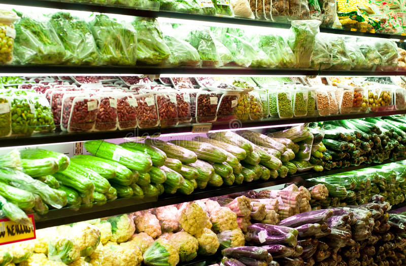 Download Local Fresh Vegetables stock photo. Image of cauli, rack - 20559152