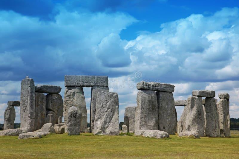 Local histórico de Stonehenge foto de stock