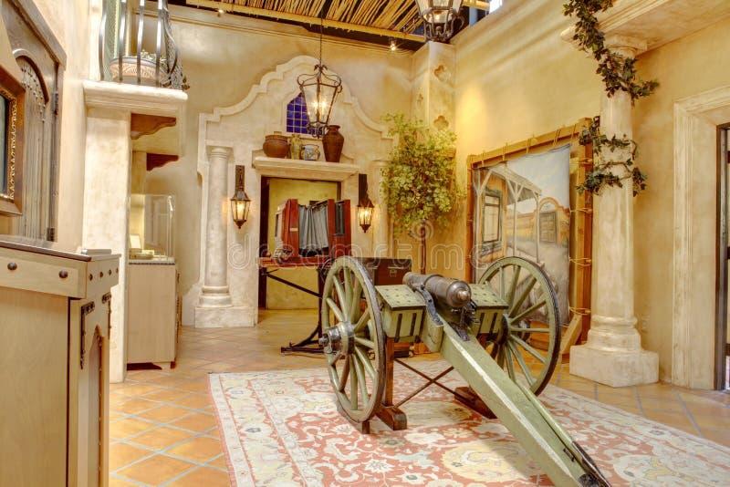 Local histórico do batalhão do mórmon, San Diego foto de stock royalty free