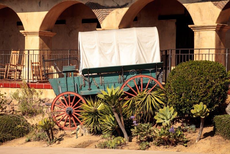 Local histórico do batalhão do mórmon na cidade velha em San Diego fotografia de stock