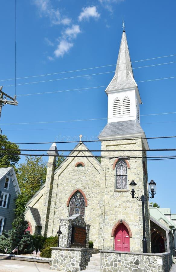 Local histórico dos EUA do estado de Smyrna delaware imagens de stock