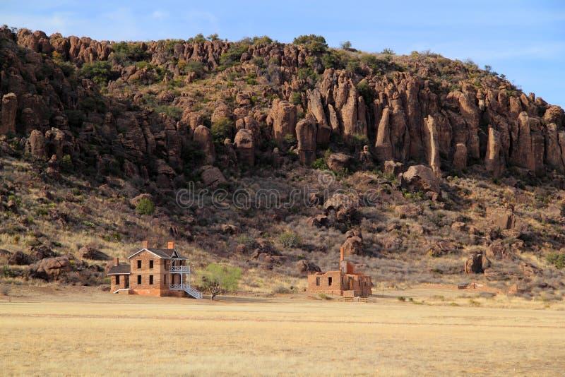 Local histórico nacional de Davis do forte fotos de stock