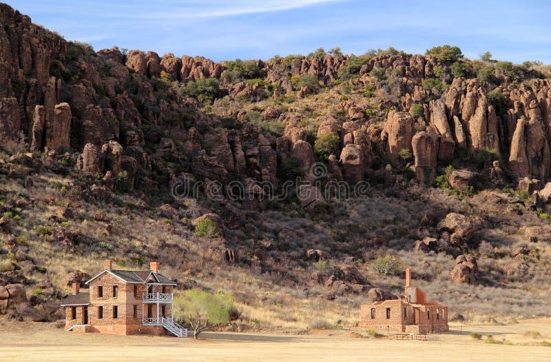 Local histórico nacional de Davis do forte foto de stock