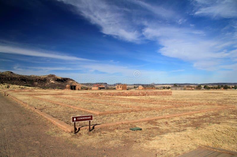 Local histórico nacional de Davis do forte fotografia de stock