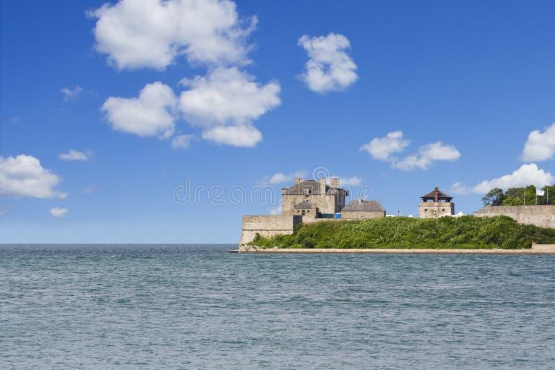 Local histórico nacional de George do forte, em Niagara-em fotos de stock royalty free