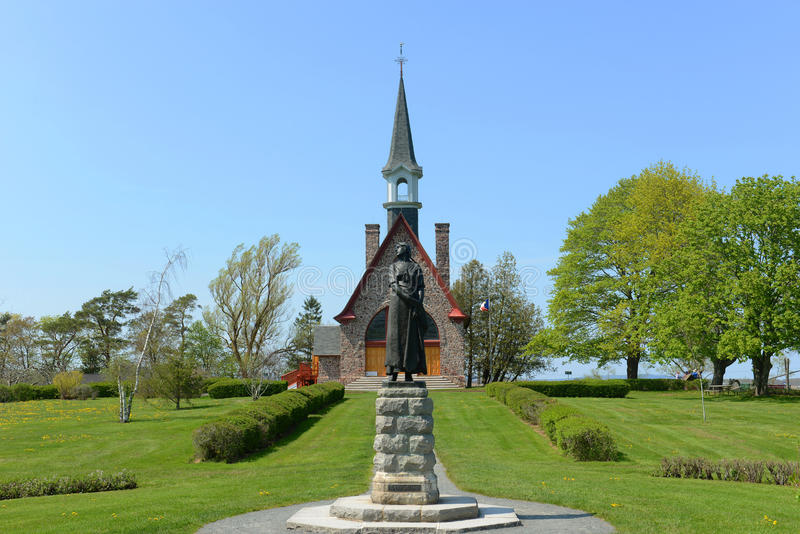 Local histórico nacional grande-Pré, Wolfville, NS, Canadá fotografia de stock royalty free