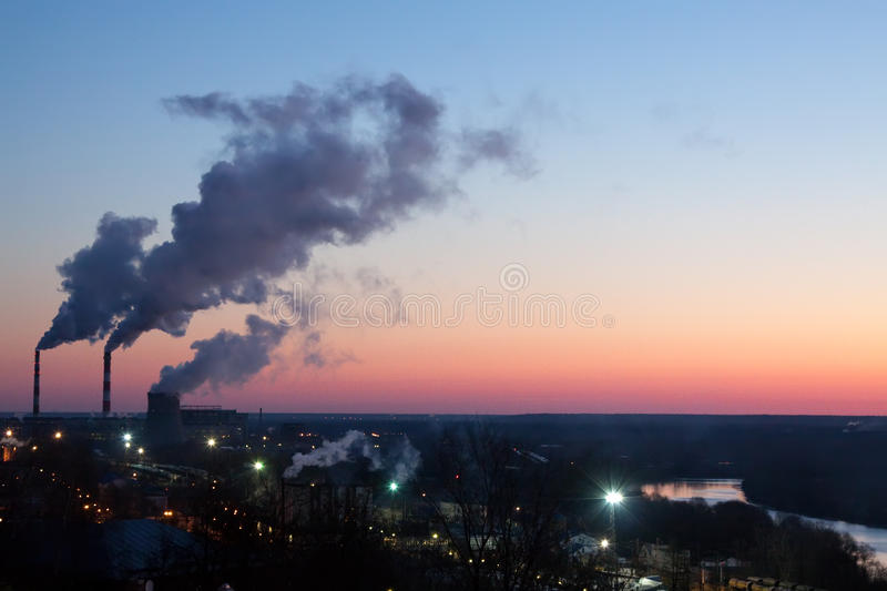 Local industrial em Vladimir imagem de stock royalty free