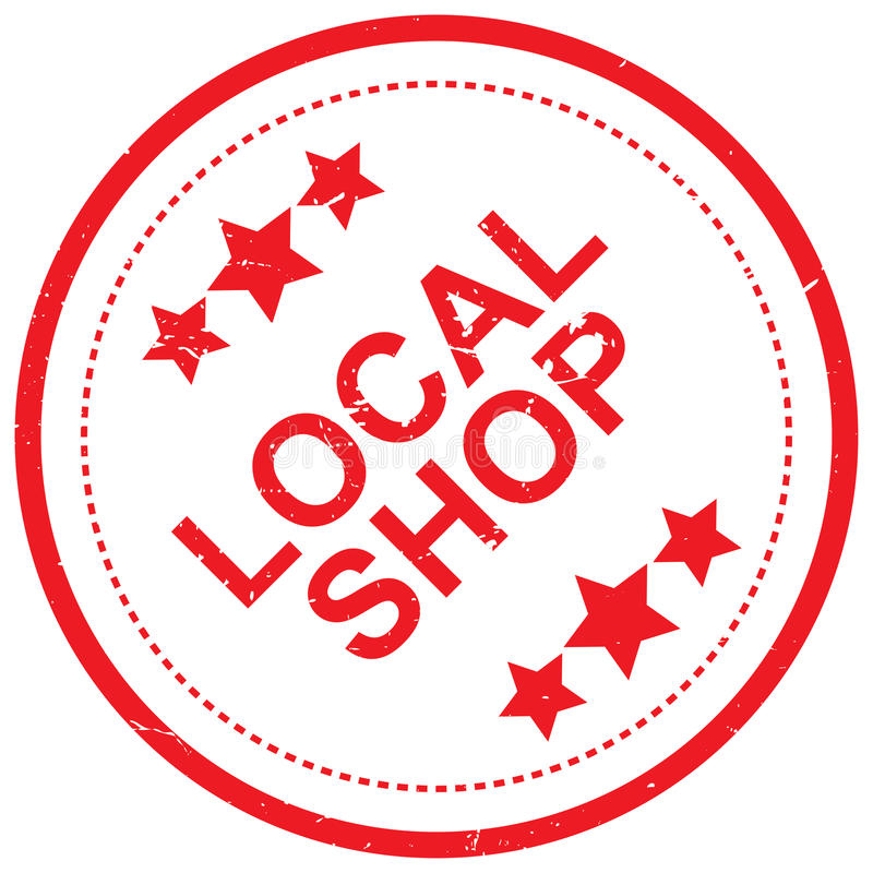 Local shop stock illustration