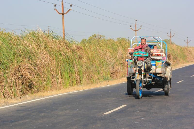 Village Transportation Of Gujarat, India Editorial Image - Image of