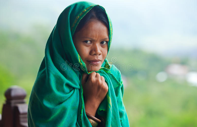 Download Local woman stock photo. Image of muslim, east, girl - 24487854