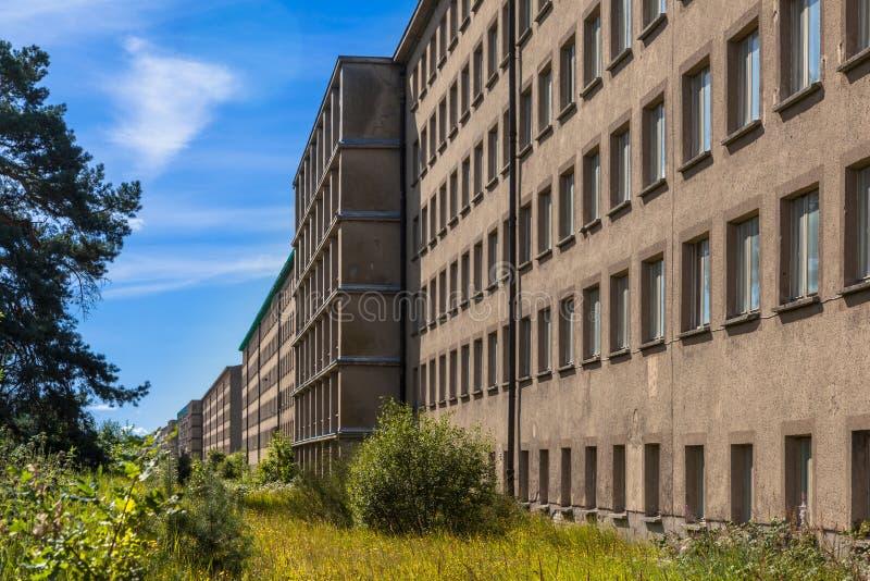 Località di soggiorno concreta storica immagine stock libera da diritti