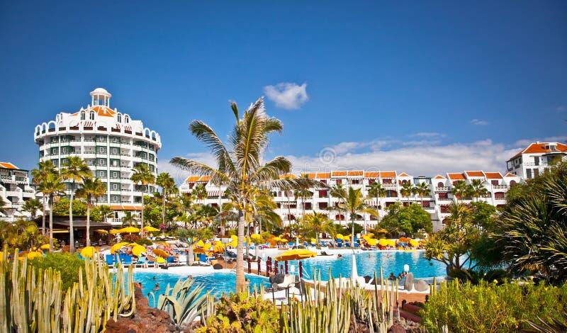 Località Di Soggiorno In Costa Adeje In Tenerife, Spagna. Immagine ...