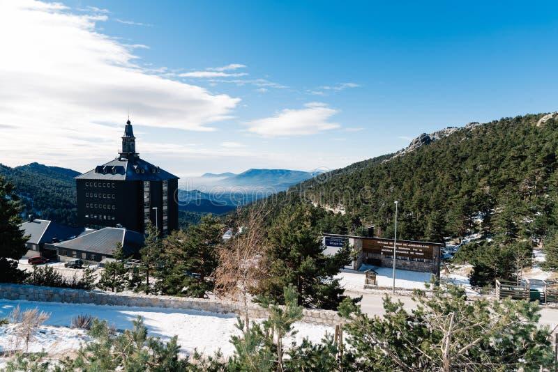 Inverno nella montagna navacerrada madrid spagna for B b soggiorno madrid