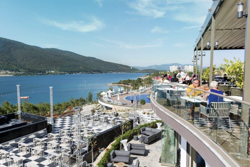 Località Di Soggiorno Dell\'albergo Di Lusso In Bodrum, Turchia ...