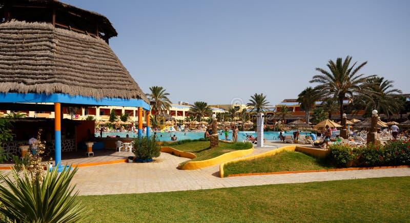 Località Di Soggiorno Dell\'albergo Di Lusso In Tunisia Fotografia ...