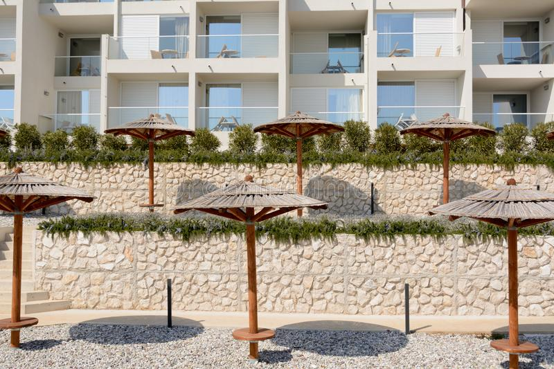 Località Di Soggiorno Dell\'hotel In Rabac, Croazia Immagine ...