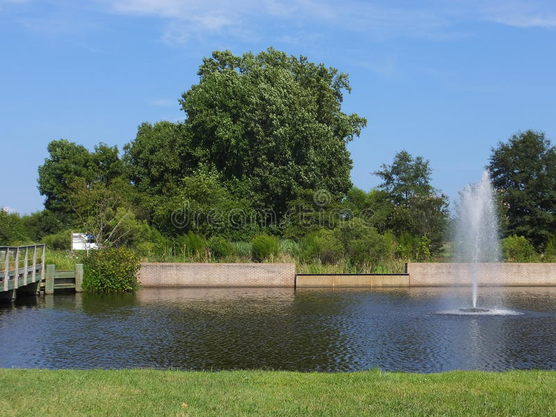 Località di soggiorno della baia di Chesapeake di Hyatt Regency a Cambridge, Maryland fotografia stock
