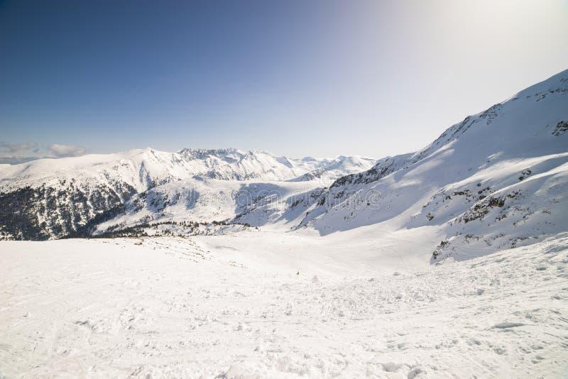 Località di soggiorno di Bansko Pirin fotografie stock libere da diritti