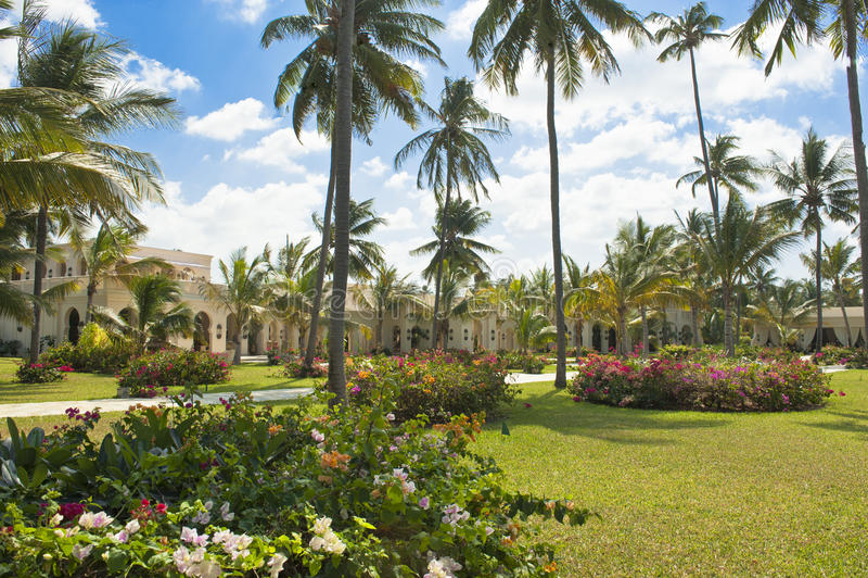 Località Di Soggiorno Di Baraza Dell\'hotel, Zanzibar Fotografia ...