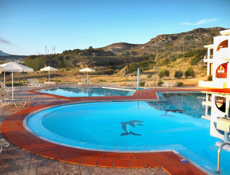 Località Di Soggiorno Di Feste Creta Immagine Stock - Immagine di ...