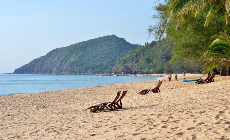 Località di soggiorno di isola di Sibu, Malesia fotografia stock libera da diritti