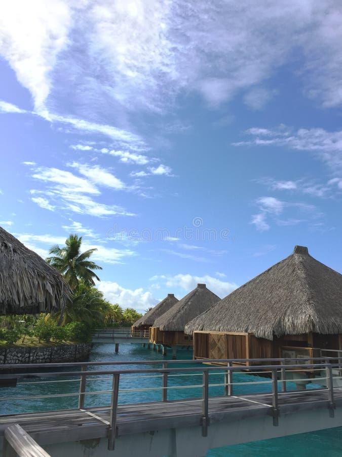 Località di soggiorno di lusso di bora di Bora fotografia stock libera da diritti