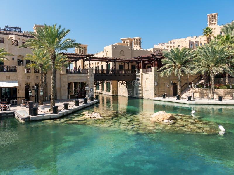 Località Di Soggiorno Di Madinat Jumeirah Nel Dubai Fotografia ...