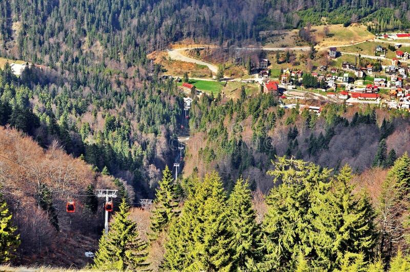 Località di soggiorno di montagna immagine stock libera da diritti