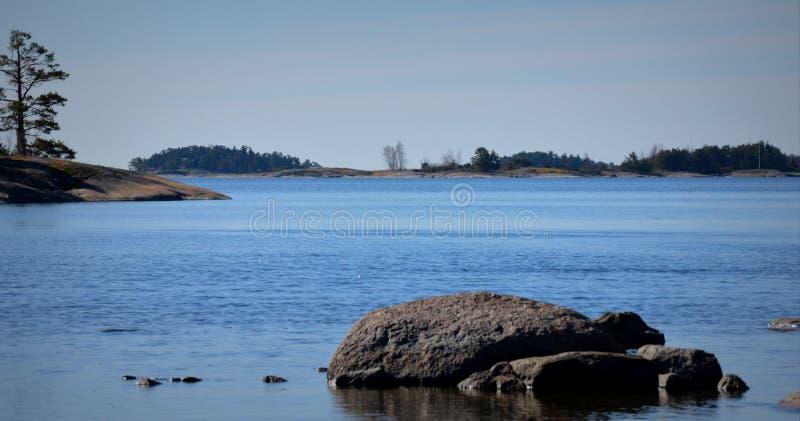 Località di soggiorno di Porkkala immagine stock libera da diritti