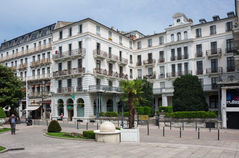 Località Di Soggiorno Francese Aix-les-Bains Immagine Editoriale ...