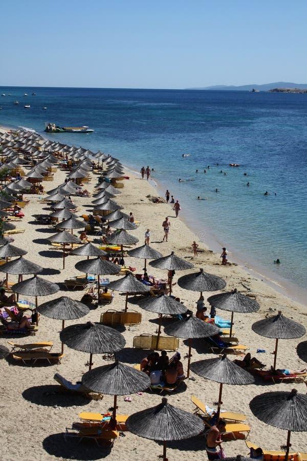 Località Di Soggiorno In Grecia Fotografia Stock - Immagine di sunny ...