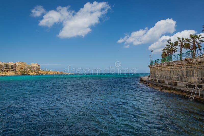 Località Di Soggiorno Marsaskala, Malta Fotografia Stock - Immagine ...