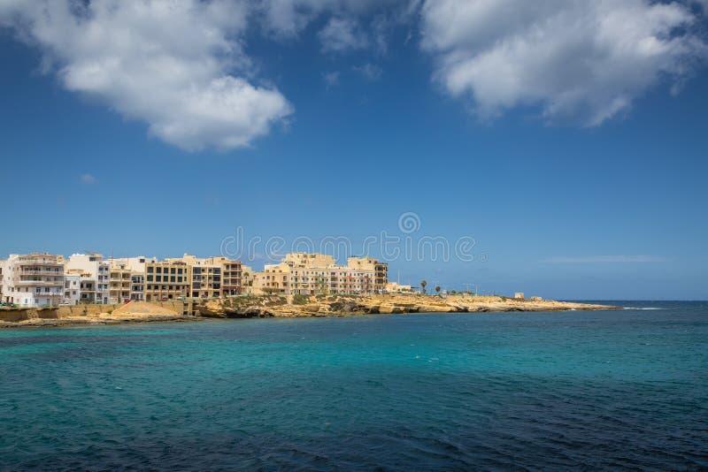 Località Di Soggiorno Marsaskala, Malta Immagine Stock - Immagine di ...