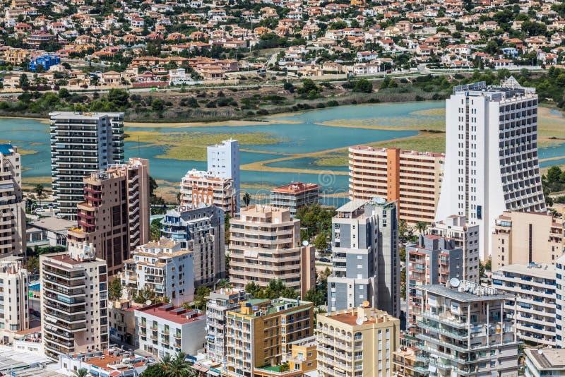 Localit di soggiorno mediterranea calpe spagna con le for Piccoli piani di costruzione dell hotel