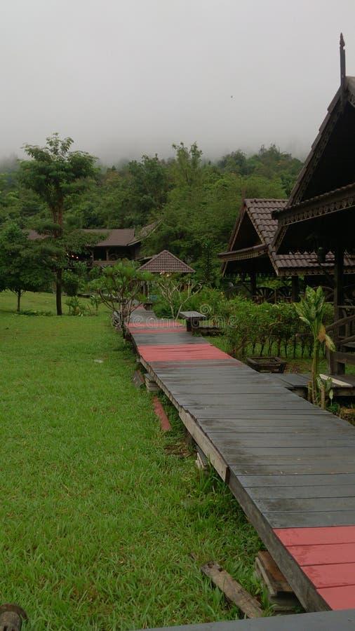 Località di soggiorno piacevoli del sok del KOH di viste fotografia stock libera da diritti
