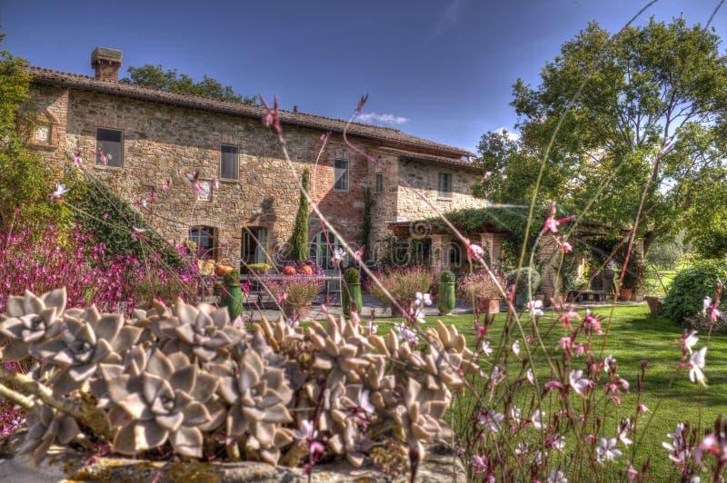 Località Di Soggiorno Toscana Della Villa Nelle Piante Fotografia ...