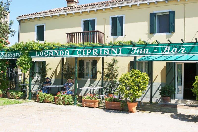 Locanda Cipriani στοκ εικόνες με δικαίωμα ελεύθερης χρήσης