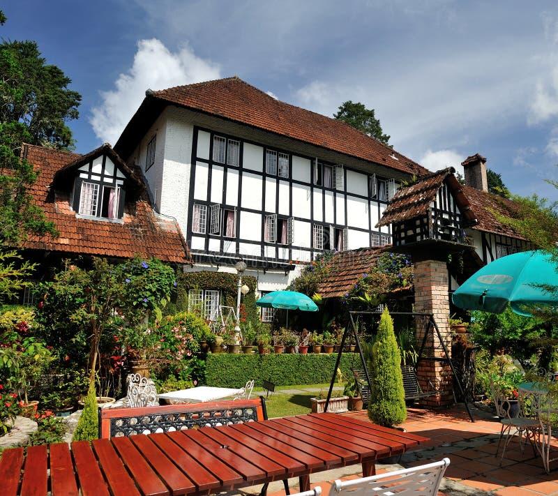 Locanda dell'affumicatoio del YE Olde, Cameron Highlands, Pahang, Malesia immagini stock