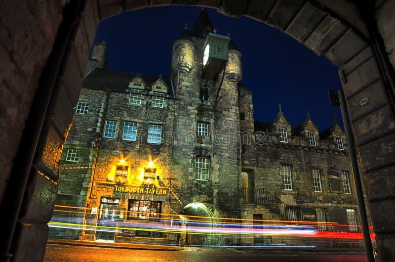 Locanda di Tolbooth, Edimburgo immagine stock libera da diritti