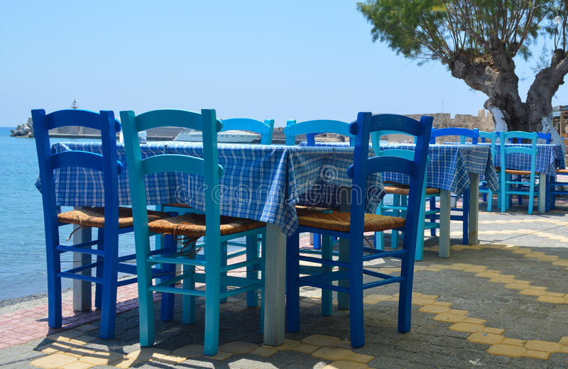 Locanda greca fotografie stock