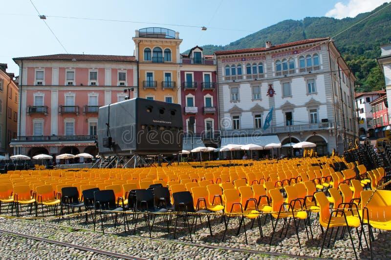 Locarno, cantone del Ticino, Svizzera, Europa fotografia stock libera da diritti