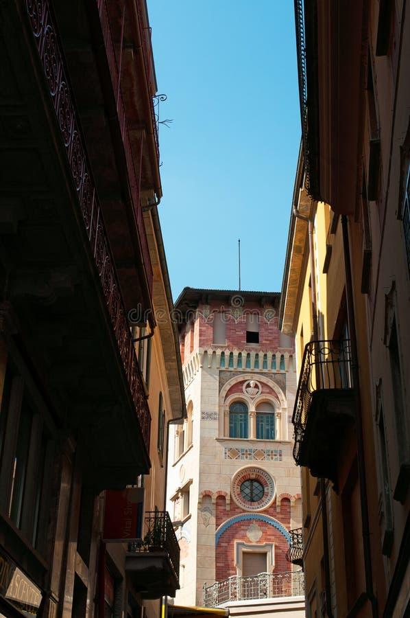 Locarno, cantone del Ticino, Svizzera, Europa fotografie stock libere da diritti