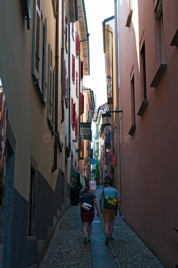 Locarno, cantone del Ticino, Svizzera, Europa immagine stock libera da diritti