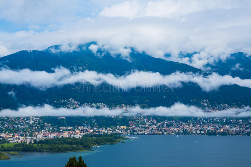 Locarno royalty free stock images