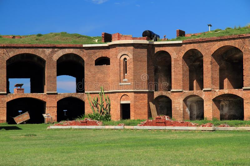 Fort Jefferson in Dry Tortugas National Park, Florida Keys. Located on Garden Key in Dry Tortugas National Park, Fort Jefferson is perhaps the most and stock photo